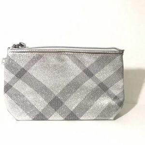Burberry cosmetic toiletry bag travel case New
